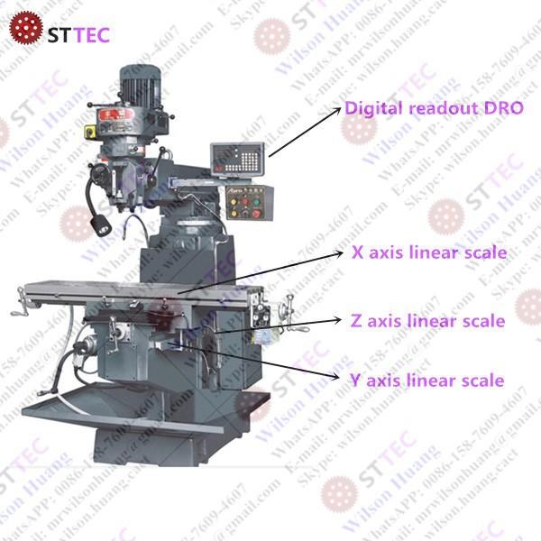 milling machine DRO