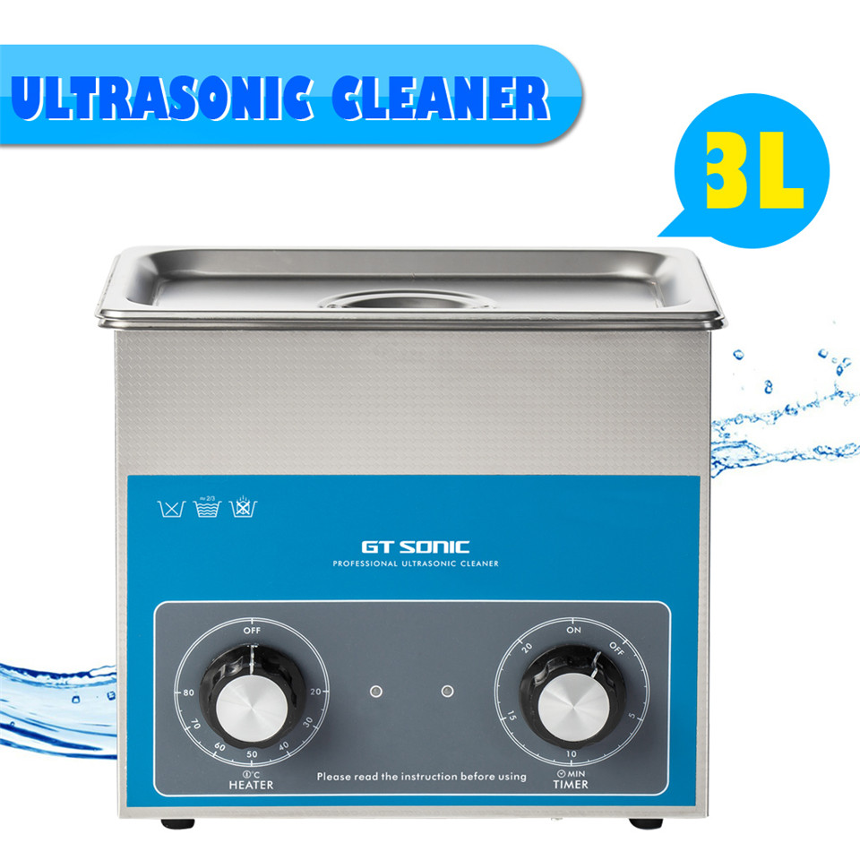 GT SONIC VGT-1730QT Ultrasonic Cleaner With Powerful Transducer Heater And Large Tank Capacity For Cleaning Off Dirt Dust Smears(China (Mainland))