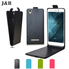 J&R Flip Cover Blackview A8 5.0 PU Leather Vertical Protective Phone Case Capa Coque Kickstand Fundas - iSaio Mobile Accessories Store store
