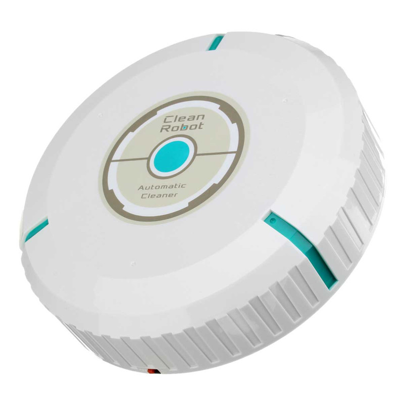 Cleaner Robot Electric Wiping Machine Automatic Ultra-quiet Microfiber Mop Vacuum Cleaner Sweeper Robot Vacuum White(China (Mainland))