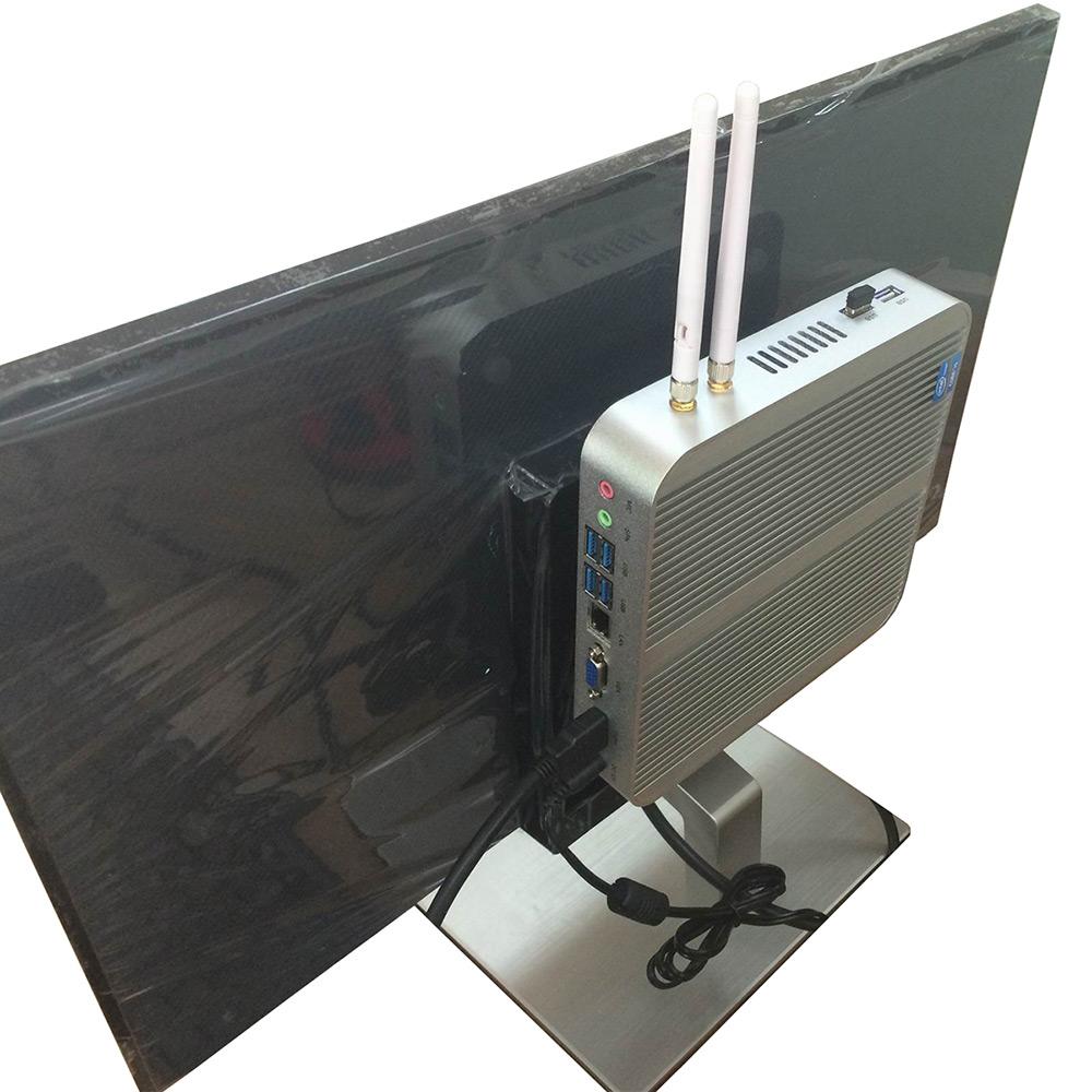 HYSTOU FMP03 Fanless Digital Top TV Box Mini PC Core-i5-4200U For Intel HM86 Express Media Box HDMI VGA Output Set Top Box(China (Mainland))