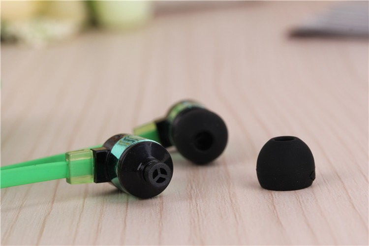 3.5mm In ear Stereo Noise Canceling Colorful Earphone Hifi Earbuds Super Bass Headset  for Smart Phone MP3