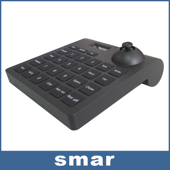 New design control keyboard Surveillance 2D RS-485 PTZ control keyboard for CCTV Security Speed PTZ Camera free shipping(China (Mainland))