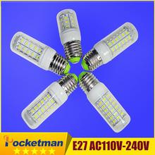 Ultra bright 5730 SMD led lamp3W 4W 5W 6W 7W E27 LED Bulb 24LED 36LED 48LED 56LED 69LED SMD5730 Lamp light 220V/110V - POCKETMAN polk Store store
