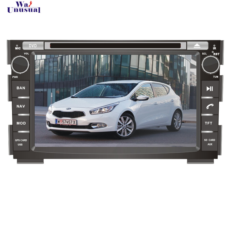 Free Shipping 2015 In Dash Auto Wince Car Multimedia System DVD Player For KIA Ceed 2006-2012 With GPS Navi BT Free Map<br><br>Aliexpress