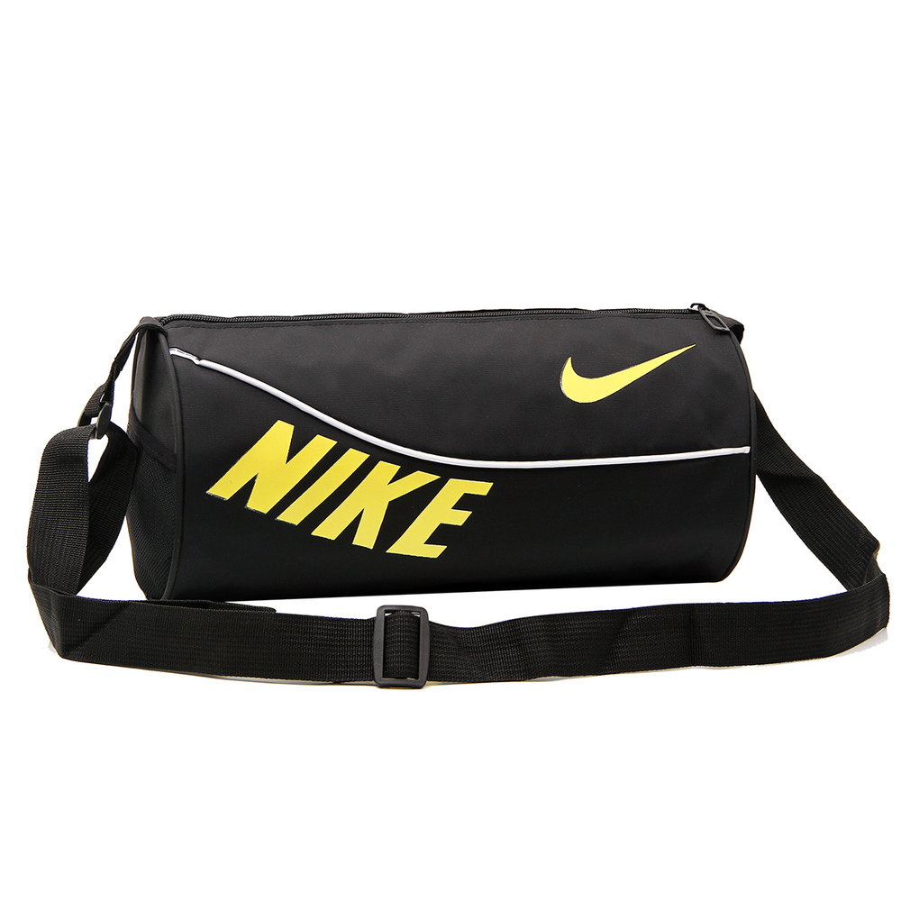The new drum bag sports bag men and women shoulder bag Messenger bag cylinder fitness training package packet(China (Mainland))