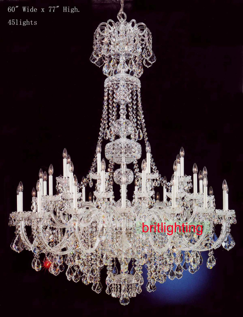 Large Entry Foyer Chandeliers : Modern large crystal chandelier for foyer big