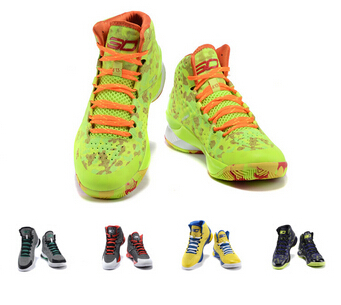 New Design 2015 12 colors Men Curry One 1 Charged Foam Athletic Basketball Shoes Brand Sport Trainer 41-46 Free Shipping(China (Mainland))