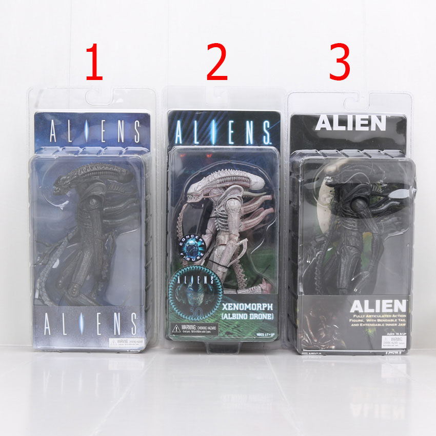 7'' Retail Fashion New Arrival NECA Official 1979 Movie Classic Alien Action Figure Toy Doll(China (Mainland))