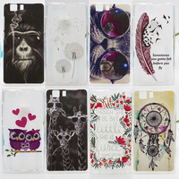Case For DOOGEE X5 Fashion Coloured Drawing Silicone Protect Phone Covers For Doogee X5 Pro Colorful Soft Phone Case Hot Sale