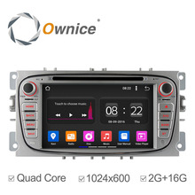 Ownice C180 4 Core Android 5.1 Car DVD GPS For Ford Mondeo Focus 2 S-max 2007 2008 2009 2011 2013 with Radio Navigation 2G/16G(China (Mainland))