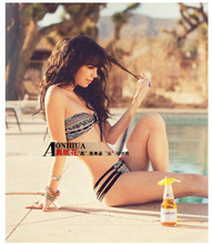 2016 Wholesale novelty Hot Sexy Swimsuit Fashion Layered dress womens Bikinis Summer Triangle Swimwears Bath Suits Bikini set