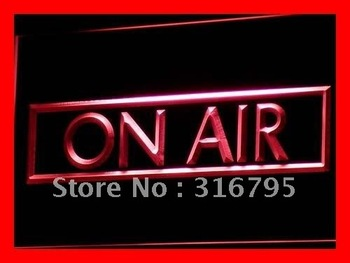 i480-r On Air Recording Studio NEW NR LED Neon Light Sign