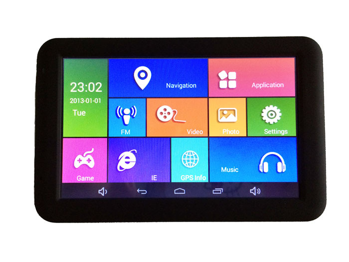5 inch tablet MID gps navigator Android capacitive screen Boxchips A13 AV IN 1.2G 512MB 8G FM WIFI 5015(Hong Kong)