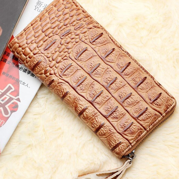 Delicate Stone Pattern Women Wallet European Style Cordyceps Grain Long Style Lady Purse Cowhide Zipper 4 Colors Female Wallets <br><br>Aliexpress