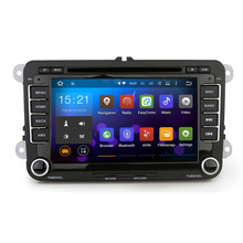 "7"" Quad Core Android 5.1.1 Car GPS for VW Golf Polo Passat Tiguan EOS CPU 1.6G RAM 1G iNAND 16G auto multimedia Stereo SAT nav (China (Mainland))"