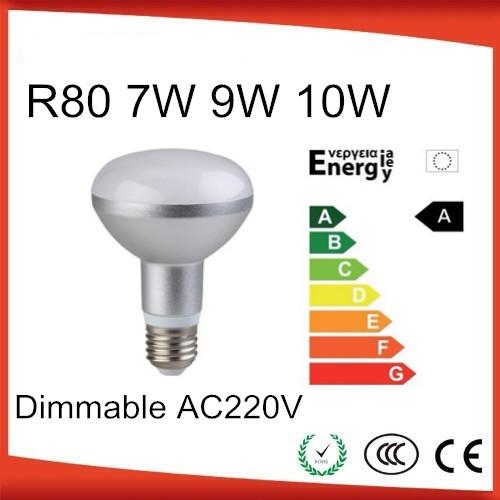 high quality Dimmable e27 led r80 9w 10w led reflector bulb umbrella bulb(China (Mainland))