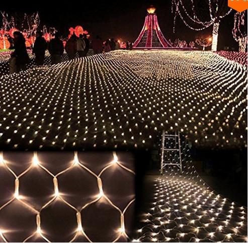 LED Net Light 6M* 4M 768 Leds Meshwork Lamp String Liht Curtain Xmas Wedding Party Holiday Christmas Fairy Lighting(China (Mainland))