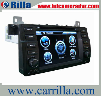 Promotion Special 1din car dvd for bmw E46 M3(1998-2005) with gps 7.0 inch Digital screen/DVD/BT/TV/FM/IPOD/RDS/CAN BUS 8788