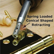 "4pk 5/64"" 7/64"" 9/64"" 11/64"" Self-Centering Hinge Woodworker Cabinet Door Wood Reaming Reamer Drill Bits Hole Drilling Tool Set(China (Mainland))"