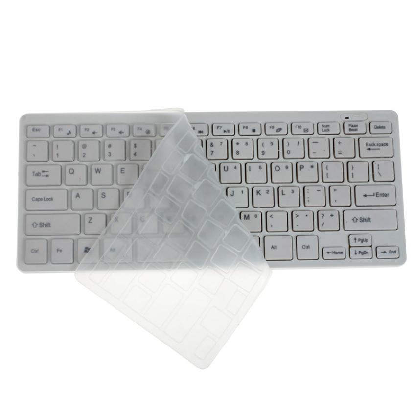 Colohas Luxury Ultra Slim Mini 2.4G Wireless Keyboard Mouse Kit For PC Laptop White High Quality02(China (Mainland))
