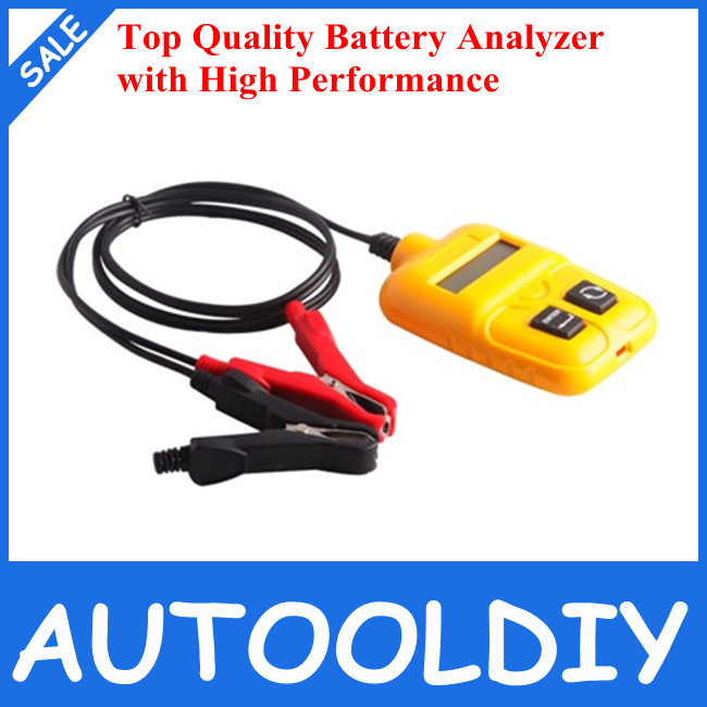 2014 Highly Recommended Top Quality Automotive Battery Analyzer Tester with Best Price Auto Battery Analyzer Free Shipping(China (Mainland))