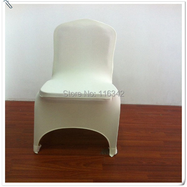 2015 Hot Sale Lycra Chair Cover Ivory Banquet Chair