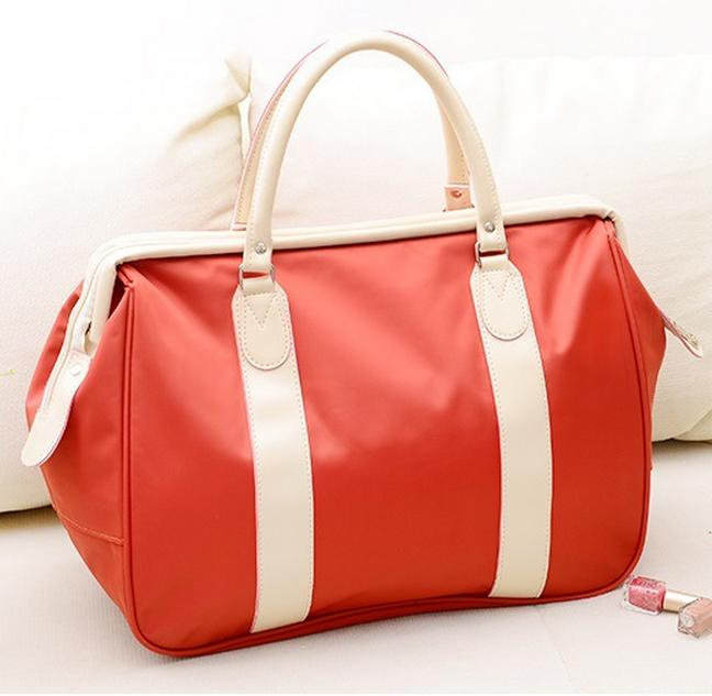 New 5 colors women's Fashion handbag casual canvas travel duffle bags women large capacity luggage bag bolsa de viaje 638t
