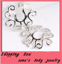 Buy steel clip non-piercing spiral circle shape nipple ring / shield Body jewelry 10PCS/LOT for $7.70 in AliExpress store