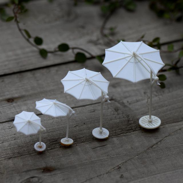 artesanato mini jardim : artesanato mini jardim:Sun Umbrella Parasol Jardim Casas Casa Decoração Mini Artesanato