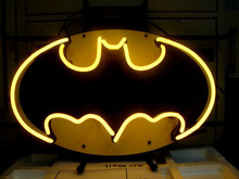 "NEON SIGN BATMAN COMIC HERO  HANDICRAFT REAL GLASS LIGHT TUBE GAMEROOM BEER BAR PUB 17x14""(China (Mainland))"