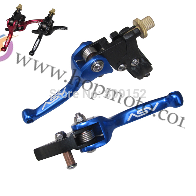 ASV clutch and brake folding lever for dirt bike/pit bike spare parts(China (Mainland))