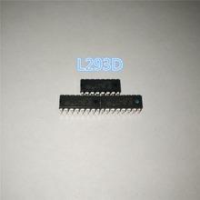 10PCS  L293D L293 293 DIP-16 Stepper Driver Chip IC 100% New Free Shipping(China (Mainland))