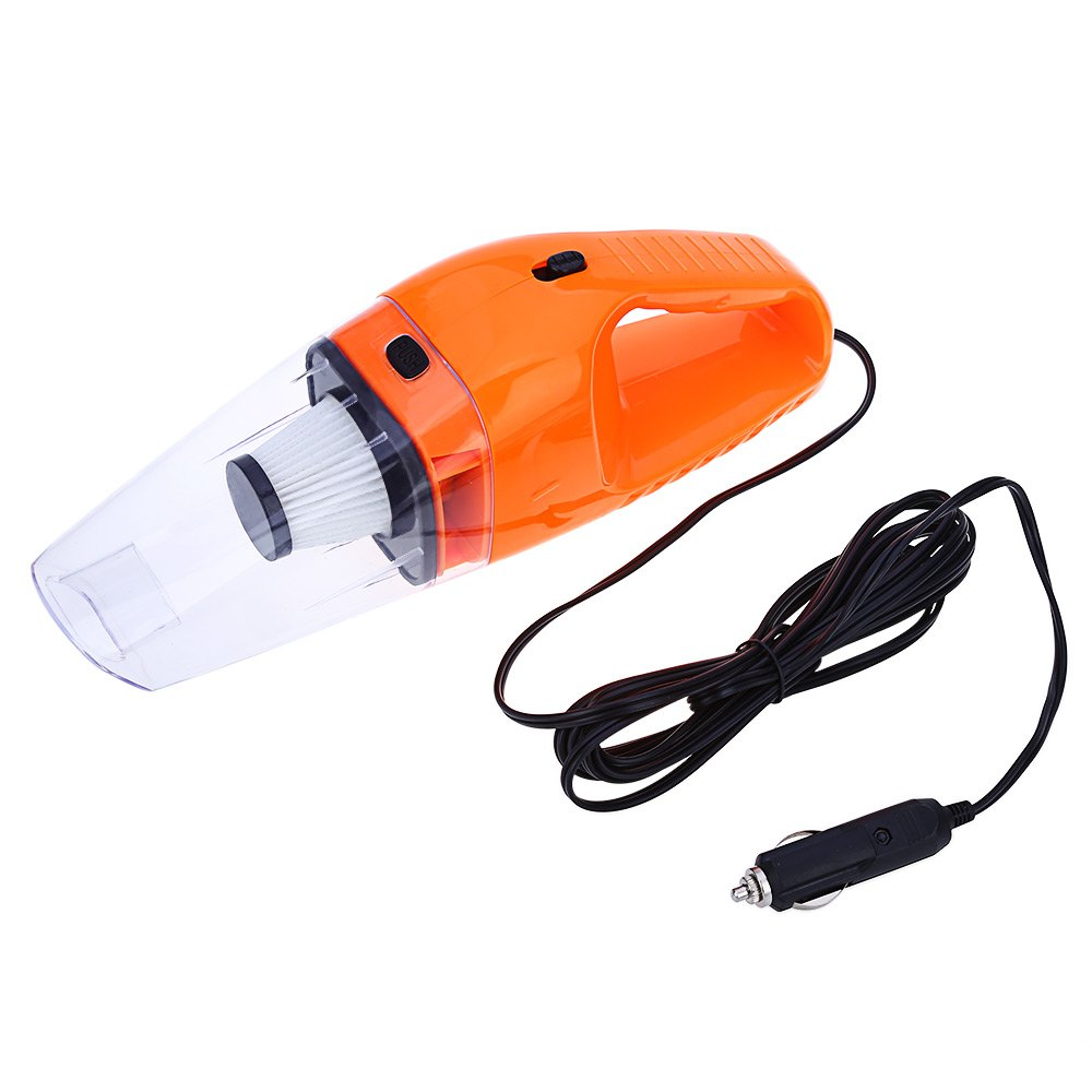 Car Vacuum Cleaner 120W 12V Handheld Wet Dry Dual-use Aspirateur Super Suction 5m Cable Handy with Lightweight Easy to Storage(China (Mainland))