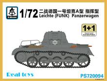 S-modelo PS720094 1/72 Leichte ( FUNK ) Panzerwagen kit modelo de plástico