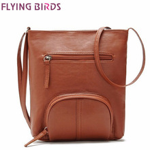 Flying birds! women messenger bags pu leather handbags women cross-body shoulder bag Bolsas high quality free shipping LM2320(China (Mainland))