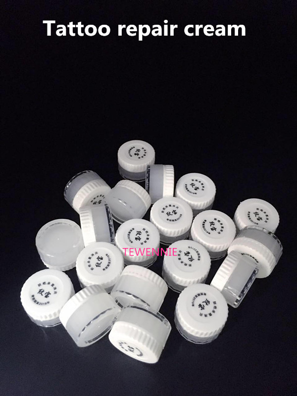 New 20Pcs Eyebrow And Lips Tattoo Aftercare Cream Skin Recovery Tattoo Nursing Repair Ointments Free Shipping