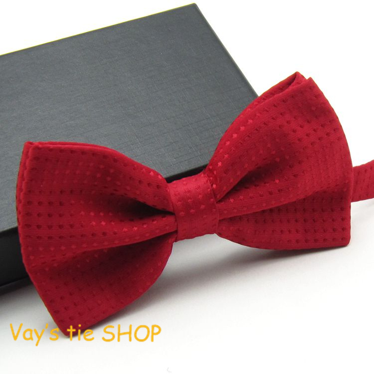 Mens Noeud Papillon Classic Male Fashion Dull Jacquard New Red Dots Leisure Bowties Wedding Tuxedo Party Bow Ties Freeshipping(China (Mainland))