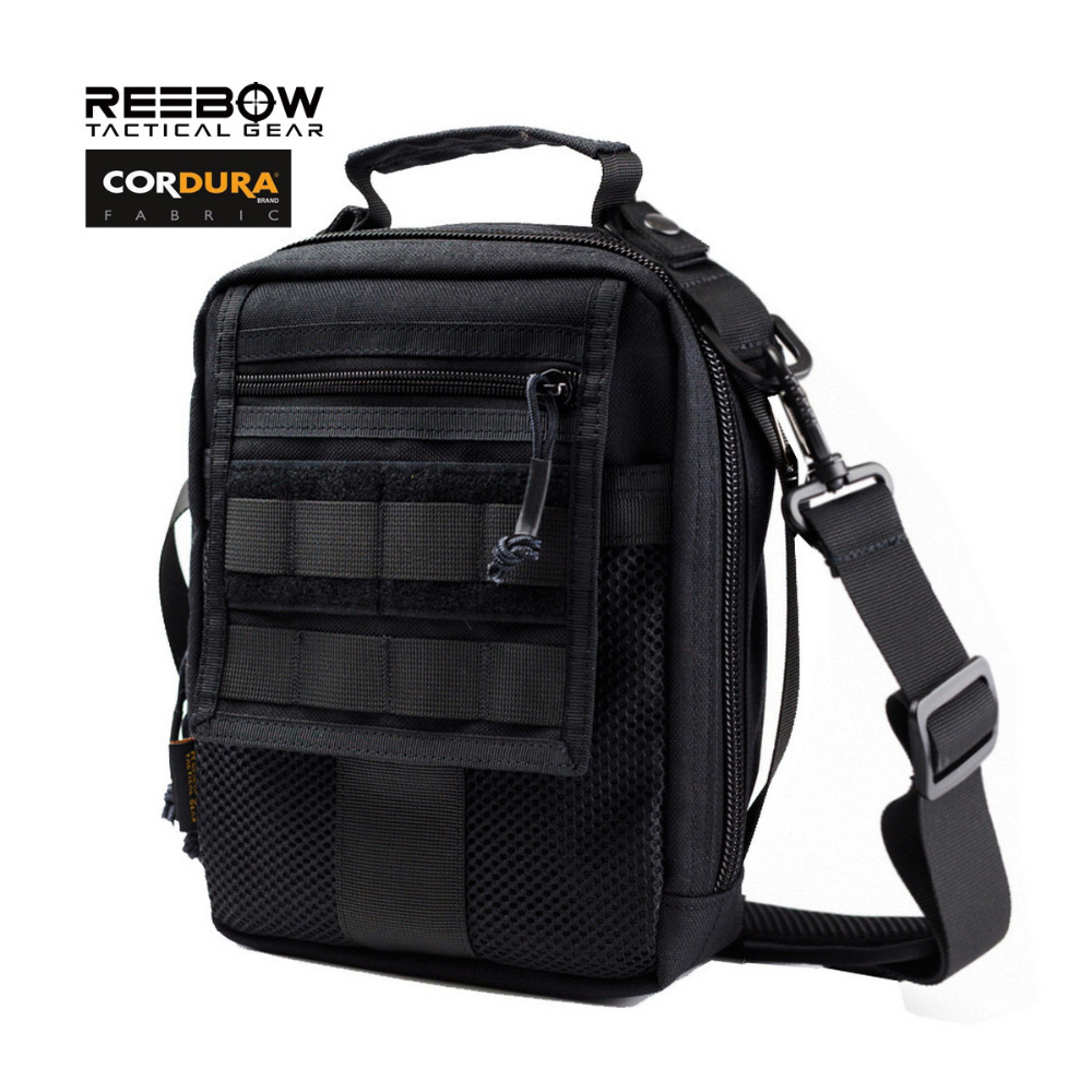Outdoor Tactical EDC Bags Army Military Casual Travel Multifuction Molle Messenger Shoulder Bag for Ipad 1000D CORDURA Fabric(China (Mainland))
