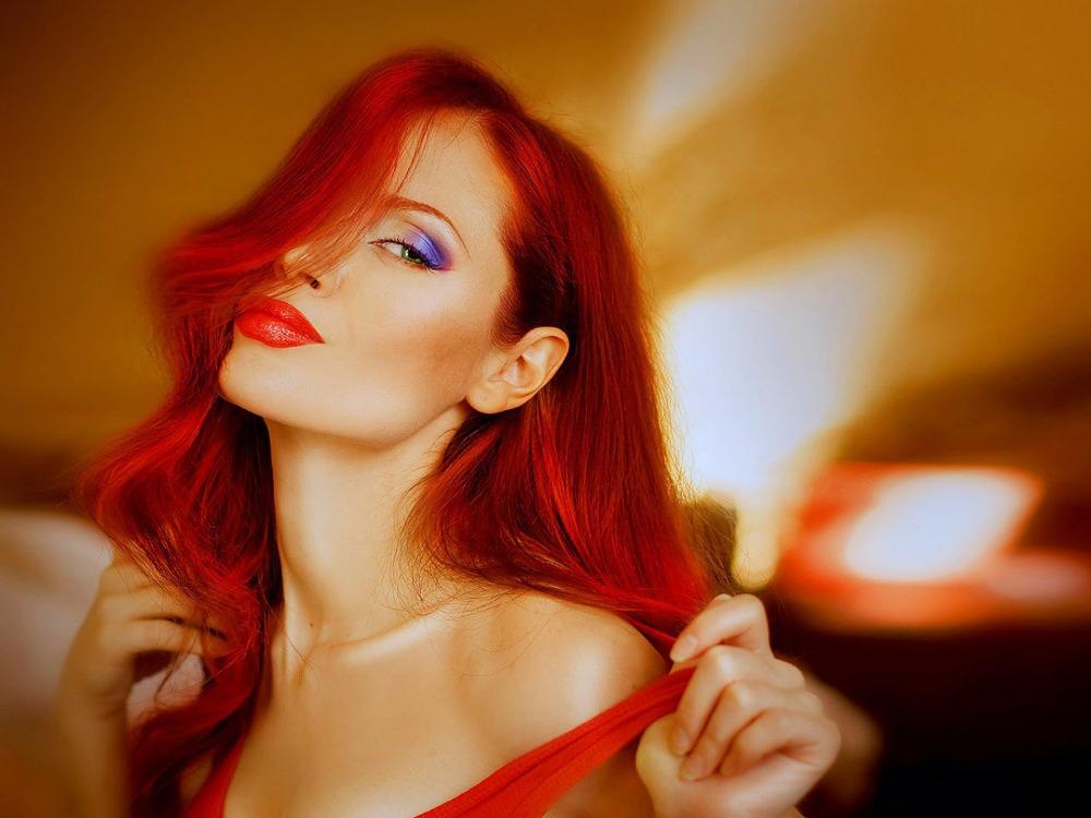 "Здесь можно купить  Beauty 100% Malaysian Virgin Hair 7pcs Clip In Human Hair Extension 10-30"" Malaysian Straight Hair Red Wig 7A Remy Human Hair  Волосы и аксессуары"