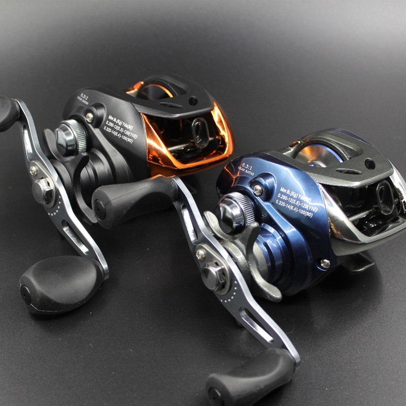 Double Brake Baitcasting Reel Fishing Gear Water Drop Wheel Right/Left Hand Bait Casting Fishing Reel Lure Reel L-WHTY-06(China (Mainland))