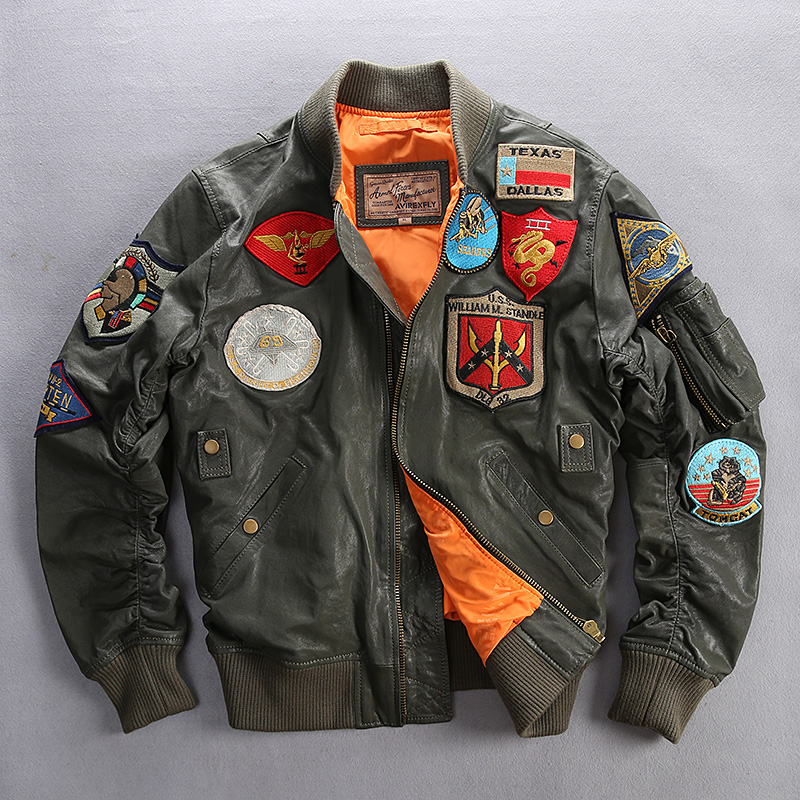 Compare Prices on Us Air Force Leather Jackets- Online Shopping ...