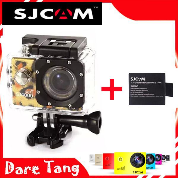 SDV03WA SJ4000 WIFI leopard print Action Camera Waterproof Camera 1080P HD Helmet Camera Underwater 30M Sport DV Camera