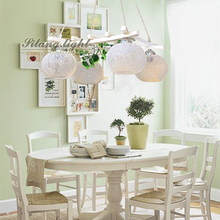 Derlook brief fashion wooden restaurant lamp living room garland glass cover  pendant lamp  65*65CM (China (Mainland))