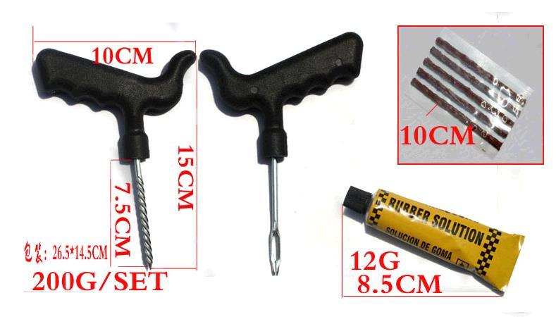Convenient mini Car tire repair tools 8 sets repair kit motorcycle tire repair tools, household tools combination quickly<br><br>Aliexpress