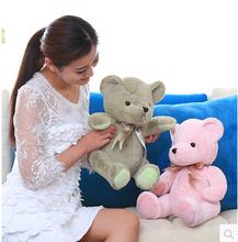 22cm lovely mini teddy bear plush toy stuffed bear soft girls gift birthday&christmas gift free shipping