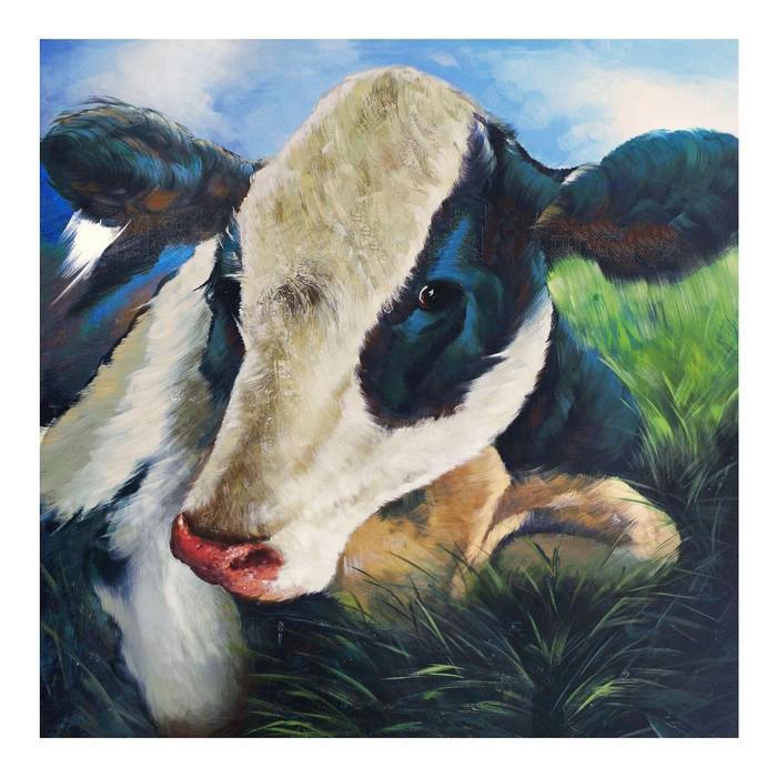 Online kaufen gro handel moderne kuh gem lde aus china moderne kuh gem lde gro h ndler - Kuh bilder auf leinwand ...