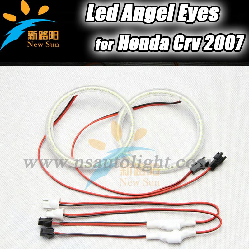 Honda CRV 2003/2007 102 SMD 3014 led angel eyes, DC 12V 4x105mm full circle halo rings kits