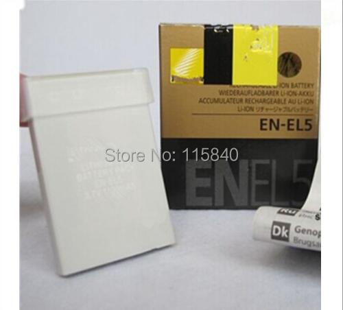 EN-EL5 EL5 ENEL5 Camera Battery for Nikon MH-61 P100 P3 P4 P500 P510 P5000 P5100 P6000 P80 P90 S10 3700 4200 5200 5900 7900(China (Mainland))
