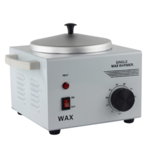 Adjustable temperature Single Chamber Waxer Wax Warmer Heater Hair Removal Arms, bikini depilation Depilatory metal shell 220V